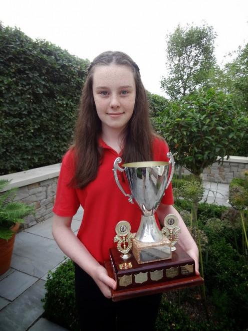 Eabha Fulton U12 Englishsinging Leinster Champ 2013